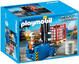 PLAYMOBIL® Forklift Playset