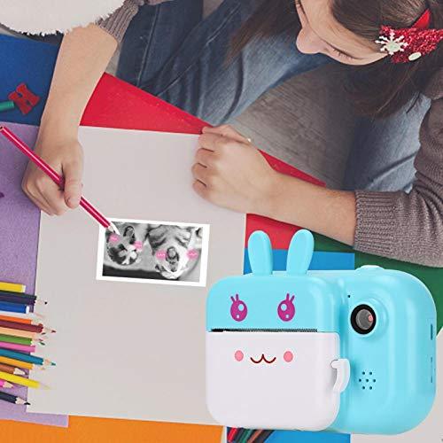 Jeanoko Draagbare Digitale Creatieve Print Camera 2.4 inch IPS scherm voor Meisjes en Jongens voor Kinderen Geschenken…