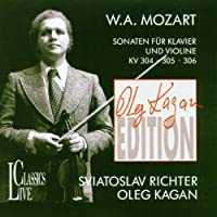 Oleg Kagan Edition, Vol. II: Mozart: Sonatas For Piano & Violin, KV 304, 305, 306 by Oleg Kagan