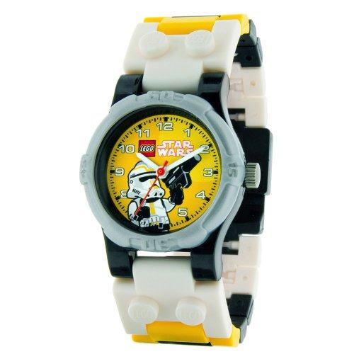 Universal Trends CT46127 - Lego Star Wars Kinderuhr - Stormtrooper