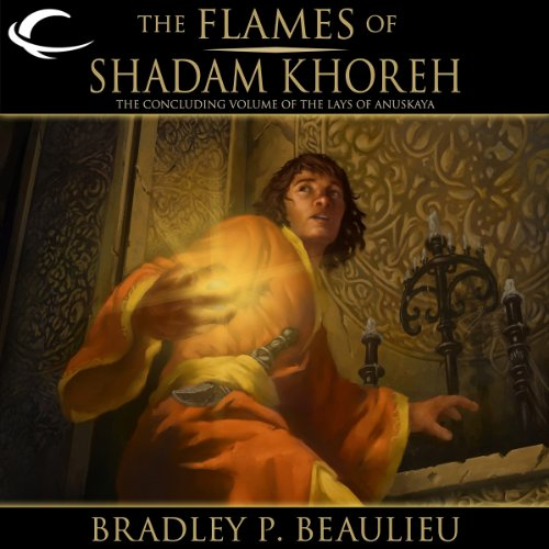 Page de couverture de The Flames of Shadam Khoreh
