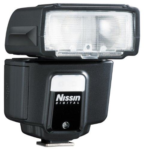 Nissin i40 - Flash con Zapata para Nikon, Negro