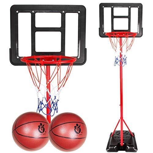 PVC Transparente Tablero Portátil Baloncesto Hoop Soporte Sistema Cantillador Altura Ajustable Niños Baloncesto Meta Interior Al Aire Libre (tamaño : 1.8m)