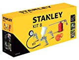 Set Accessori Aria Compressa Kit 8 Pneumatic Stanley...