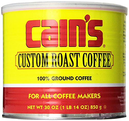 Cain's Custom Roast Coffee 30 Oz. Can