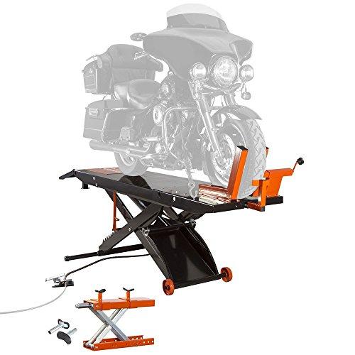 Black Widow Rage Powersports BW-PROLIFT-HD Air OP Heavy Duty ProLift 1,500 lb Motorcycle Scissor...