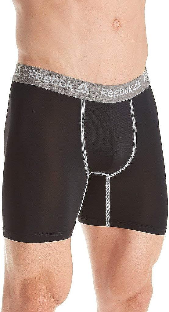 Reebok Men's Performance 6 Inch Boxer Brief 181UH02