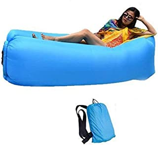 Bry Inflatable Lounger Air Chair Sofa Bed Sleeping Bag Couch for Beach Camping Lake Garden