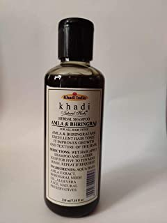 Khadi Natural Herbs Amla Bhringraj Shampoo