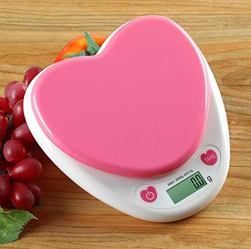 NC Báscula de Cocina, báscula de Alimentos Digital con Capacidad de Alta precisión, báscula de medición multifunción Digital -3KG-0.1