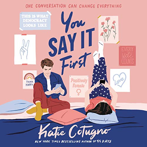 You Say It First audiobook cover art