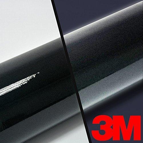 3M High Intensity Gloss Black Reflective Adhesive Vinyl Tape 2-Roll Pack (.5' x 54')