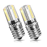 Kakanuo E17 LED Bulb Microwave Oven Light Dimmable 4 Watt Warm White 3000K (Pack of 2)