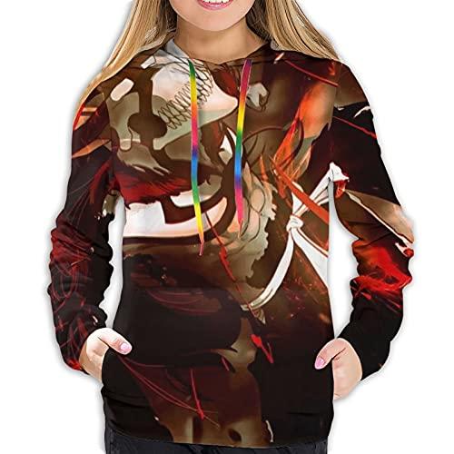 Bleach Vasto Lorde Hollow - Sudaderas casuales para mujer con capucha para uso diario para deportes, adecuadas para primavera, otoño e invierno y se sienten cómodas. XXL