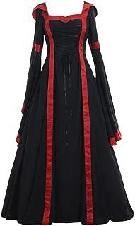 Women's Maria Olive Green&Copper Victorian Dress Costume