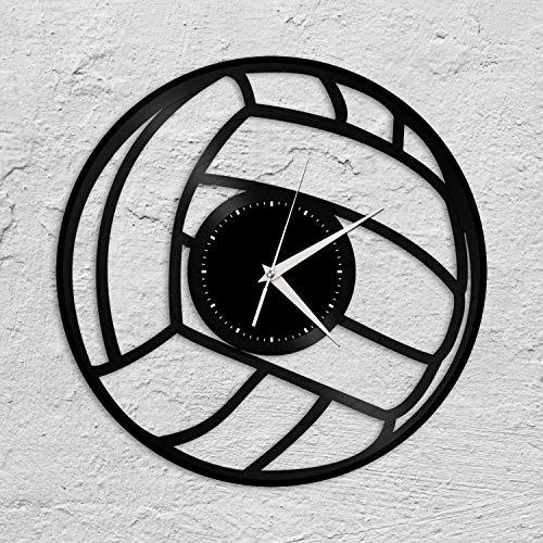 Silver's Art Reloj de pared de vinilo antiguo, regalo único para amigos, decoración del hogar, sala de estar, diseño vintage, oficina, bar, sala de estar, decoración del hogar