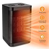 Best Heaters - 1500W / 750W Ceramic Space Heater with Overheat Review