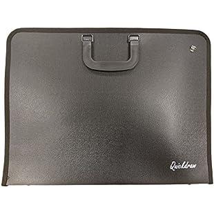 Quickdraw A3 Portfolio Case Artist Vinyl Storage Carry Art Work Protection Folder