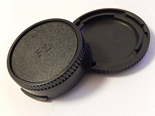 vhbw Objektiv Deckel Set mit FD-System passend für Kamera Canon EOS A1, AE1, AV1.