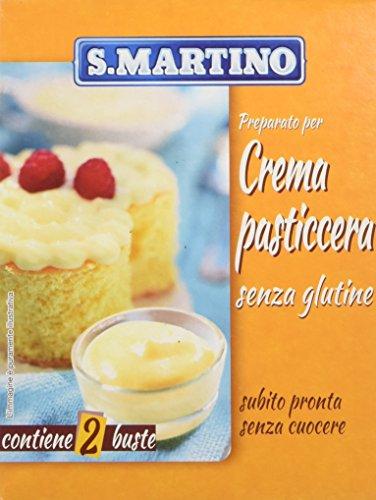 S.Martino - Crema Pasticcera Senza Glutine - Astuccio 140G - [confezione da 11]
