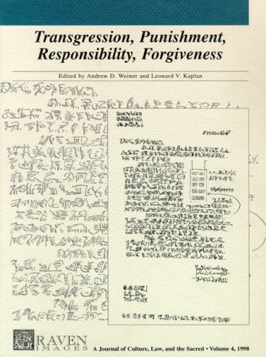 Weiner: Transgression Punishment Responsibility Forgive (Graven Images: Culture, Law and the Sacred)