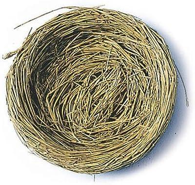 FloraCraft Decorative Straw Bale 2.5 Inch x 2.5 Inch x 5 Inch Natural MNB5H