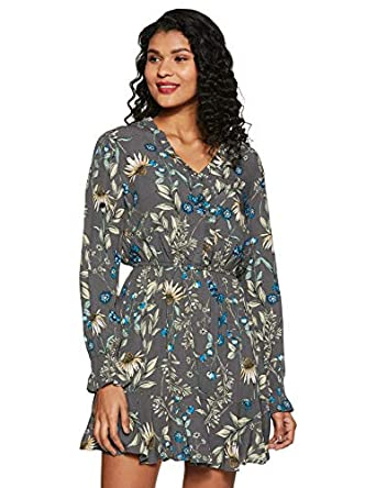 Marks & Spencer Women's Synthetic A-Line Knee-Length Casual Dress