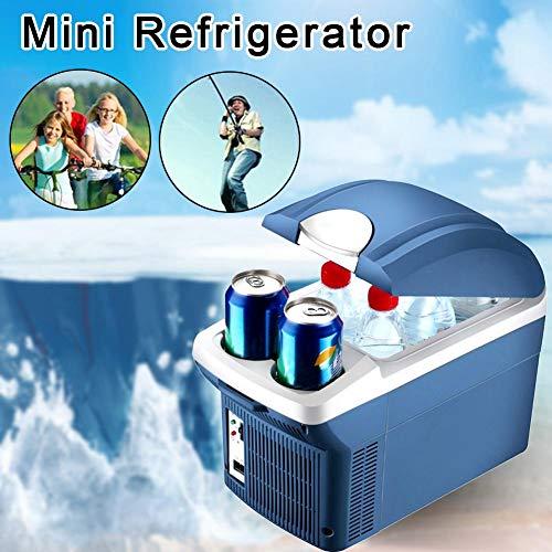 favourall Mini Kühlschrank Gefrierschrank, 8 Liter Kompressor-Kühlbox, Elektrische Kühlbox Gefrierbox, tragbare Auto Absorber-Kühlbox Für Auto Zuhause Büro Picknick im Freien Von fine