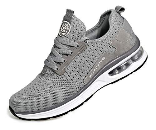 Zapatilla de Deporte con amortiguación de Aire para Calzado Deportivo Transpirable para Caminar para Hombres y Mujeres para Trotar Entrenamiento Deportivo en el Gimnasio