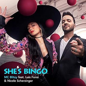 She's Bingo (feat. Luis Fonsi & Nicole Scherzinger)
