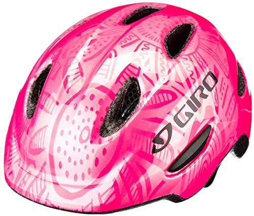 Giro Unisex Jugend Scamp MIPS Fahrradhelm Youth, Bright pink/Pearl, X-Small