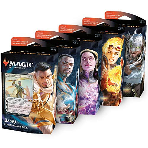 MTG Hauptset 2021 Planeswalker Deck Deutsch, Bundle, Magic: The Gathering