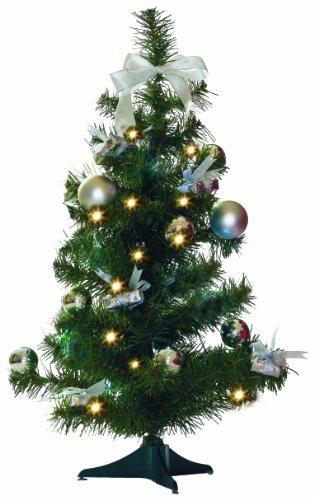 Star, Albero di Natale addobbatto, Misura: 60 cm