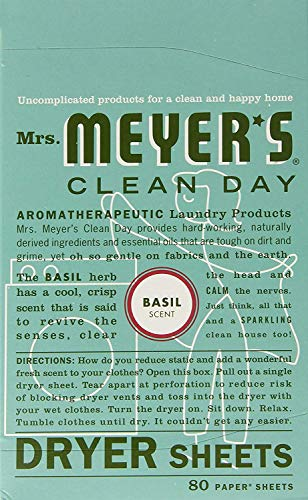 Mrs. Meyer's Clean Day Dryer Sheets