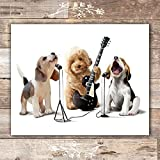 Funny Dog Wall Art - Unframed - 8x10 | Puppy Wall Decor