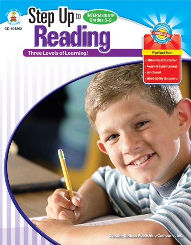 Step Up to Reading, Grades 3 - 5: 3 Levels of Learning! (Step Up Series)