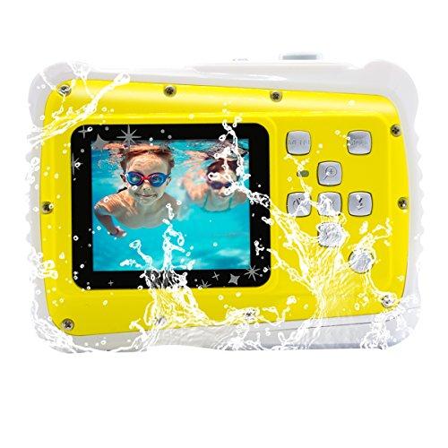 """Vmotal GDC5261 Impermeable cámara Digital con Zoom Digital de 4X / 8MP / 2"""" TFT LCD de la Pantalla/Cámara Impermeable para niños (Amarillo)"""