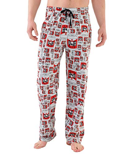 The Simpsons Bas De Pyjama Homme Duff Beer Multicolore Small