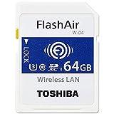 東芝 無線LAN搭載SDXCメモリカード 64GB Class10 UHS-1Flash Air SD-UWA064G