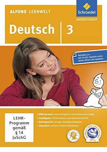 Alfons Lernwelt Deutsch 3 Einzelplatzlizenz