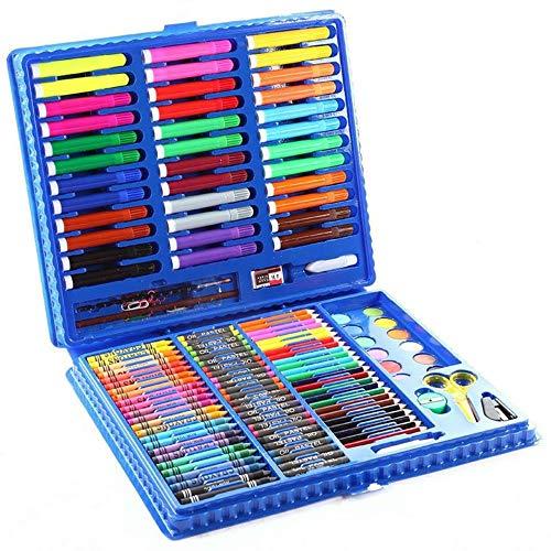 Tokyia 151 Pedazos de Acuarela Conjunto de lápiz Art Student Fuentes de Pintura Lápices de Colores Juguete de Herramientas Pluma de la Acuarela Conjunto Caja de Regalo del Arte de Dibujo