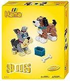 Hama- Midi-Gift Box-3D Dogs, 3243