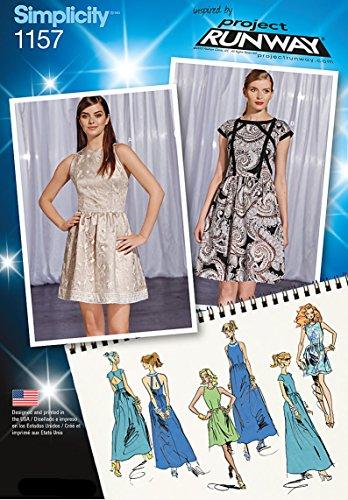 Simplicity P51157Vestiti da Donna Collezione Project Runway Sewing Pattern
