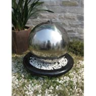 Alger Stainless Sphere Feature Lights y