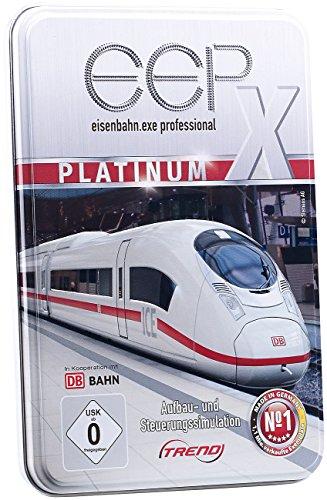 EEP Eisenbahn.exe 10 Platinum inkl. Add-Ons in Metall-Präsentbox