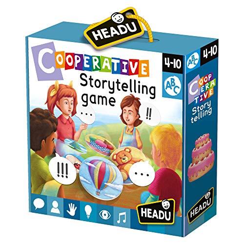 Headu Cooperative Storytelling Juegos educativos/educativos Cultura General, Multicolor, 8059591424063