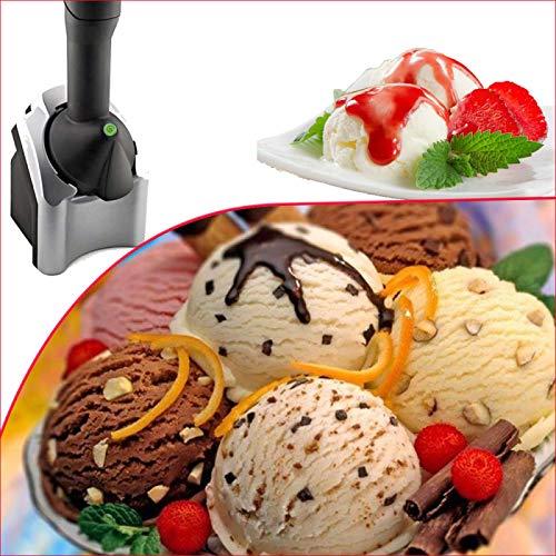 Máquina para dulces congelados de lujo, máquina de helado para el hogar, máquina para servir fruta sana, heladera de fruta doméstica, heladera casera, heladera casera, uso para helado, sorbete