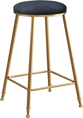 Wondrous Amazon Com Bar Stool Wrought Iron Nordic Modern Minimalist Caraccident5 Cool Chair Designs And Ideas Caraccident5Info