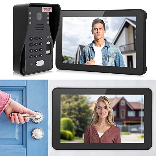 Eosnow Intercomunicador Desbloqueo Video Timbre Seguridad en el hogar(Transl)