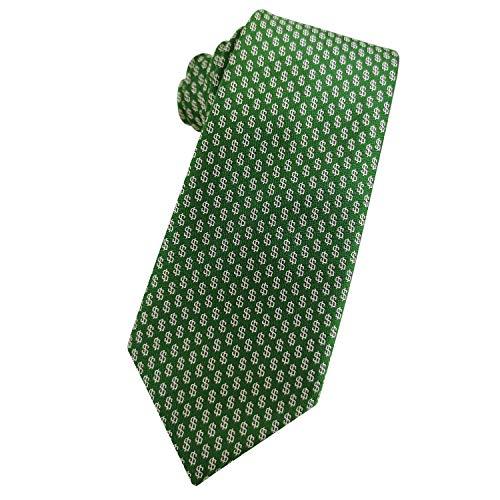 KOOELLE-American-Necktie-Dollar-Jacquard